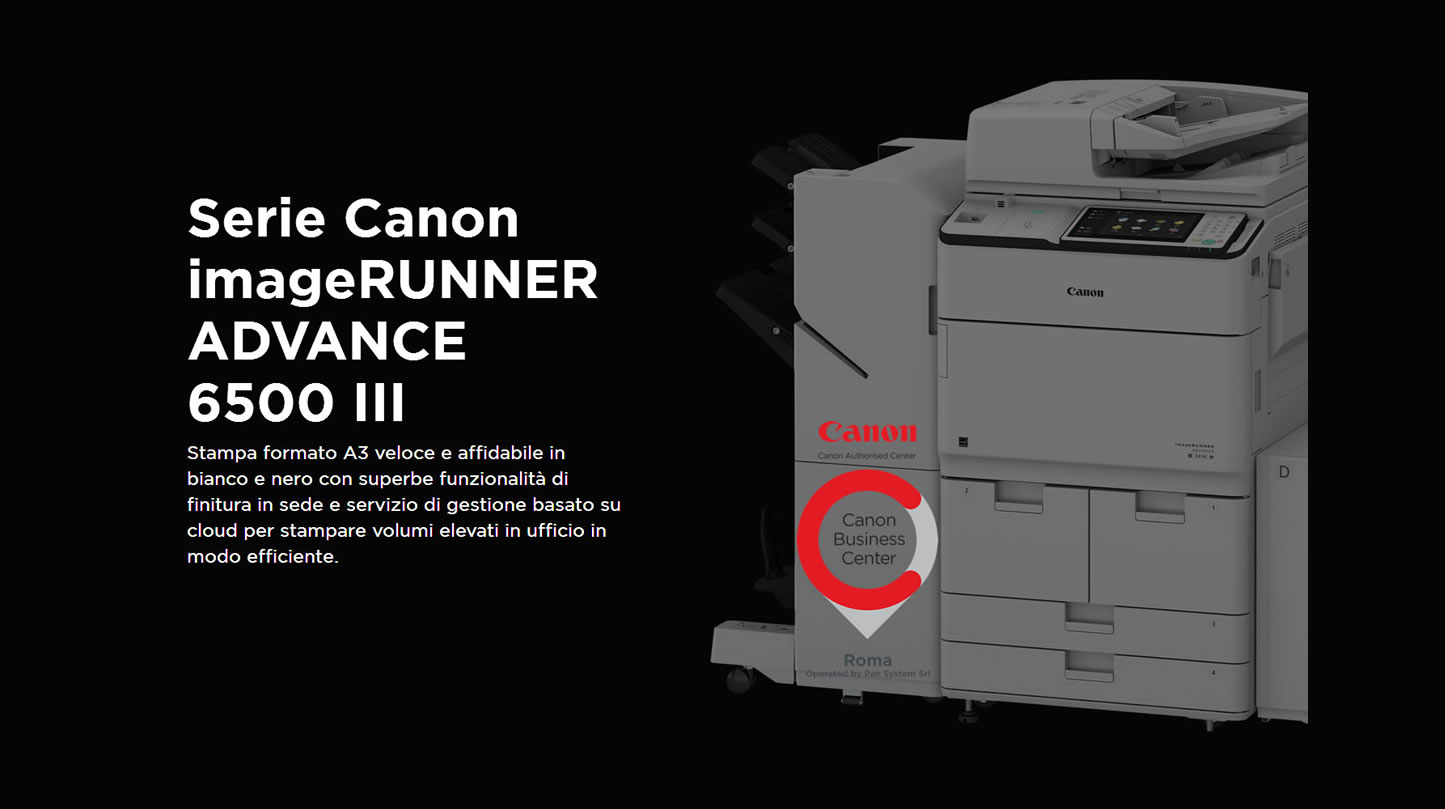 CANON IR ADVANCE 6500