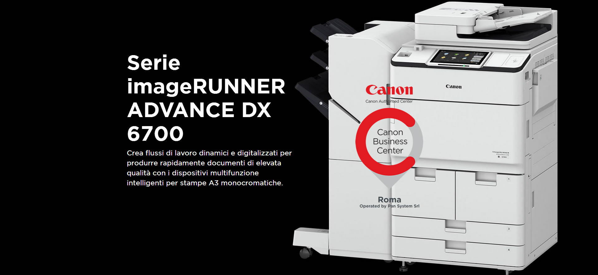 imageRUNNER ADVANCE DX 6700