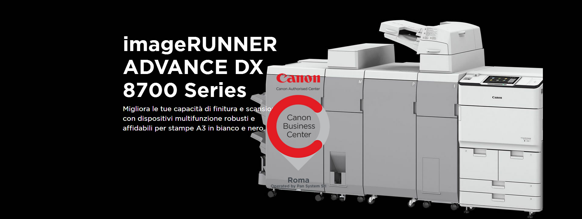 imageRUNNER ADVANCE DX 8700