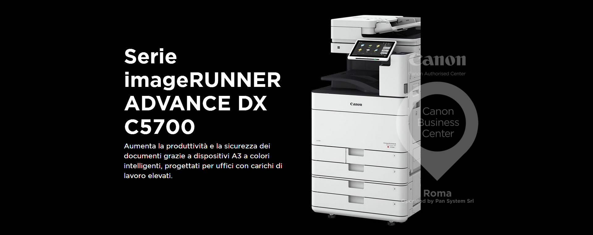 imageRUNNER ADVANCE DX C5700