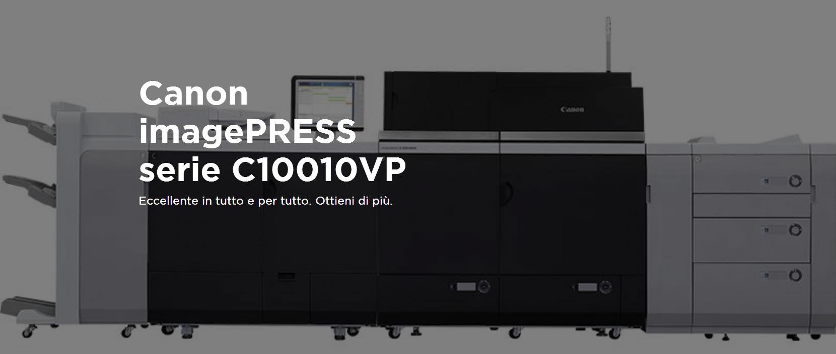Canon imagePRESS serie C10010VP